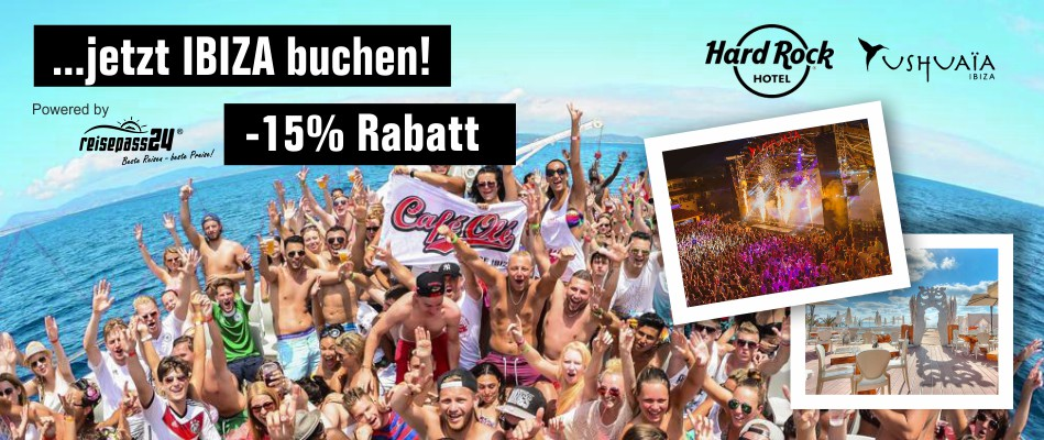 Jetzt Ibiza buchen! -15% Rabatt